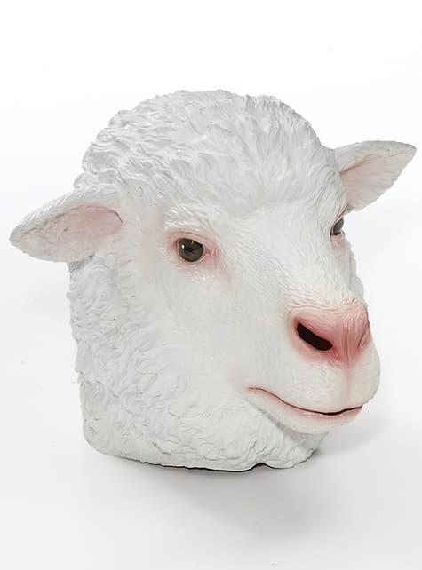 Máscara látex de ovelha