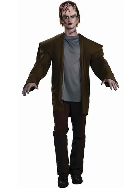 Disfarce de Frankie zombie para homem