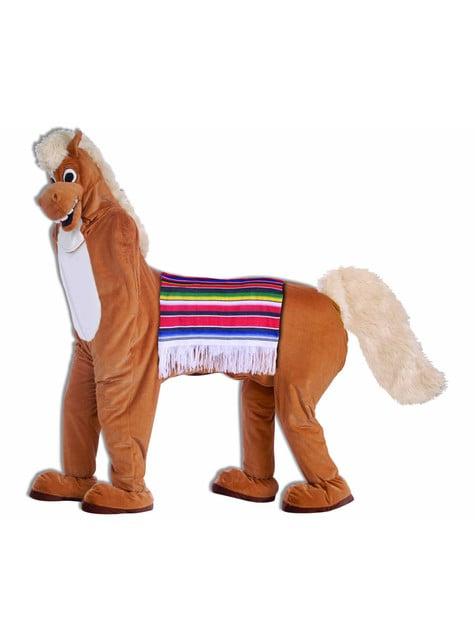 Dvojdielny kostým koňa pre dospelých