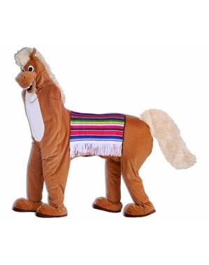 Fato de cavalo para dois