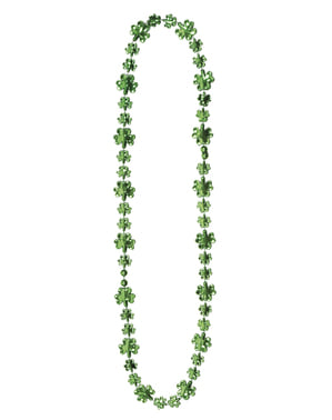 Saint Patrick clover necklace