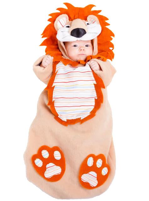 Disfraz de bebé león