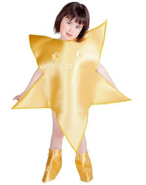 Mädchenkostüm Stern
