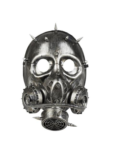 Máscara de gas-punk para adulto