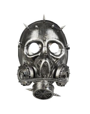 Gasmask punk för vuxen