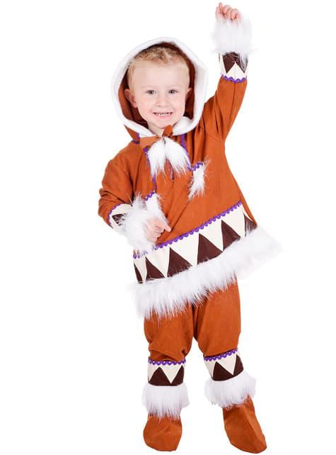 Disfraz de esquimal para niño