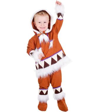 Eskimo Kostüm für Jungen