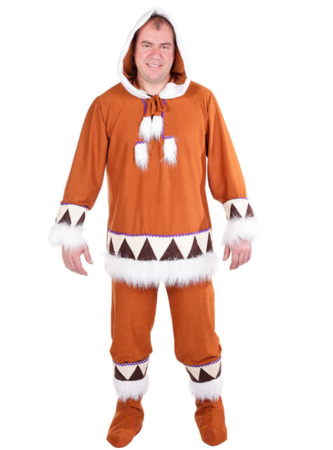 Costum de eschimos băiat
