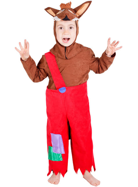 Детски костюм за дете на вълка