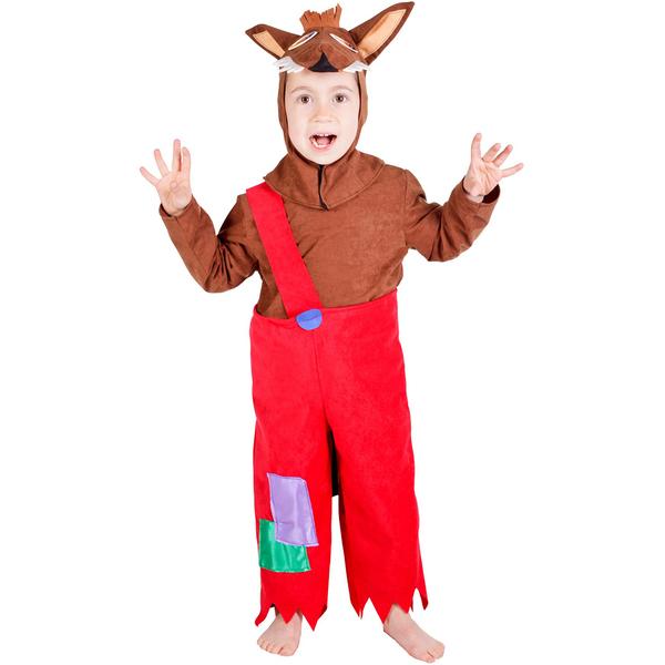 Disfraz de lobo feroz para niño casero - Imagui
