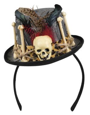 Voodoo magiër hoed voor vrouw