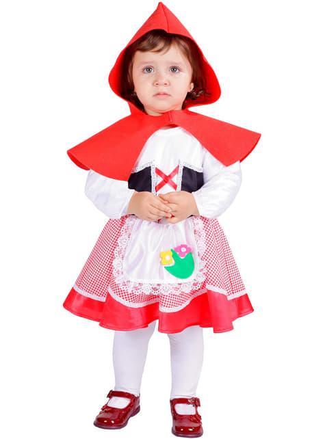 Lite Rødt Baby Kostyme