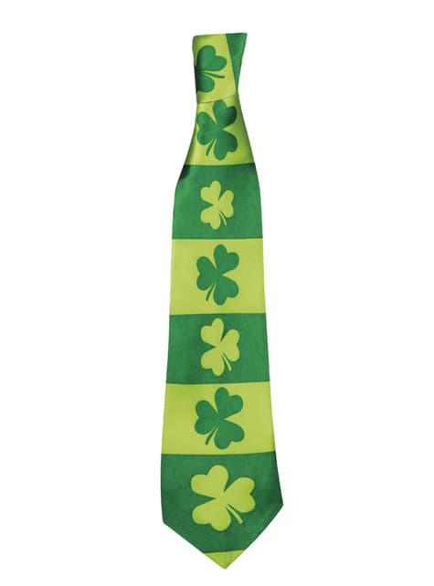 Cravate trèfle St Patrick adulte