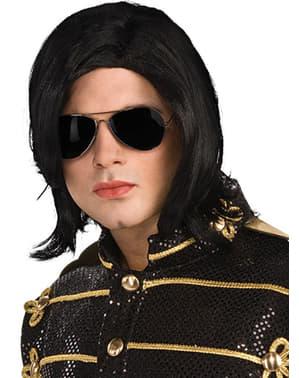 Pruik en Bril van Michael Jackson