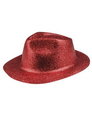 Sombrero de nochevieja rojo para adulto