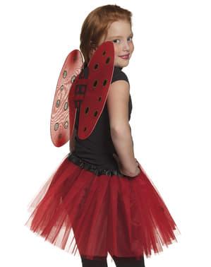 Kit disfraz de mariquita infantil