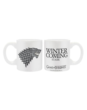 Pack cadou Stark deluxe: pahar, cană și breloc - Game of Thrones