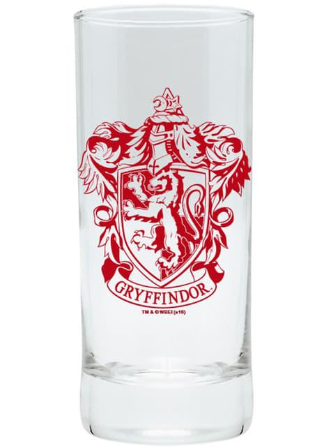 Pack cadeau Gryffondor deluxe: verre, tasse et porte-clés - Harry Potter