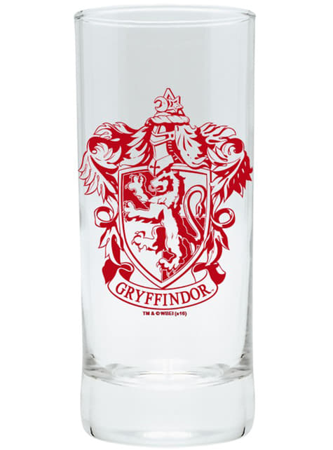 Pack presente Gryffindor deluxe: copo, caneca e porta-chaves - Harry Potter