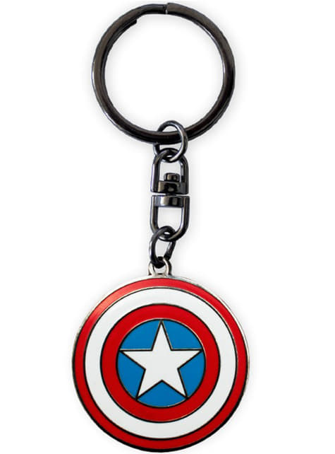 Deluxe Gift Set (Glass, Mug and Keychain) - Captain America