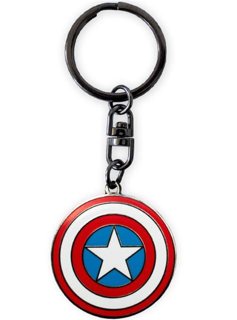 Pack regalo deluxe: vaso, taza y llavero - Capitán América - barato
