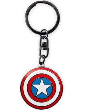 Gåvoset deluxe: glas, Mugg och nyckelring - Captain America