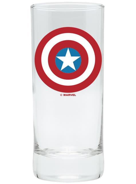 Pack regalo deluxe: vaso, taza y llavero - Capitán América - comprar
