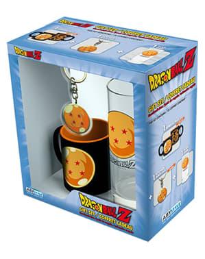 Подарунковий набір 'Кришталева куля' (скло, кухоль і брелок) - Dragon Ball
