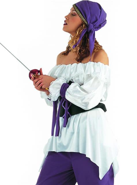 Vrouwelijk piratenshirt