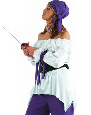Camisa de mujer pirata