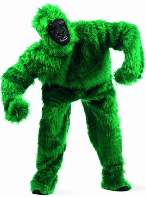 Large Green Gorilla Adult Costume
