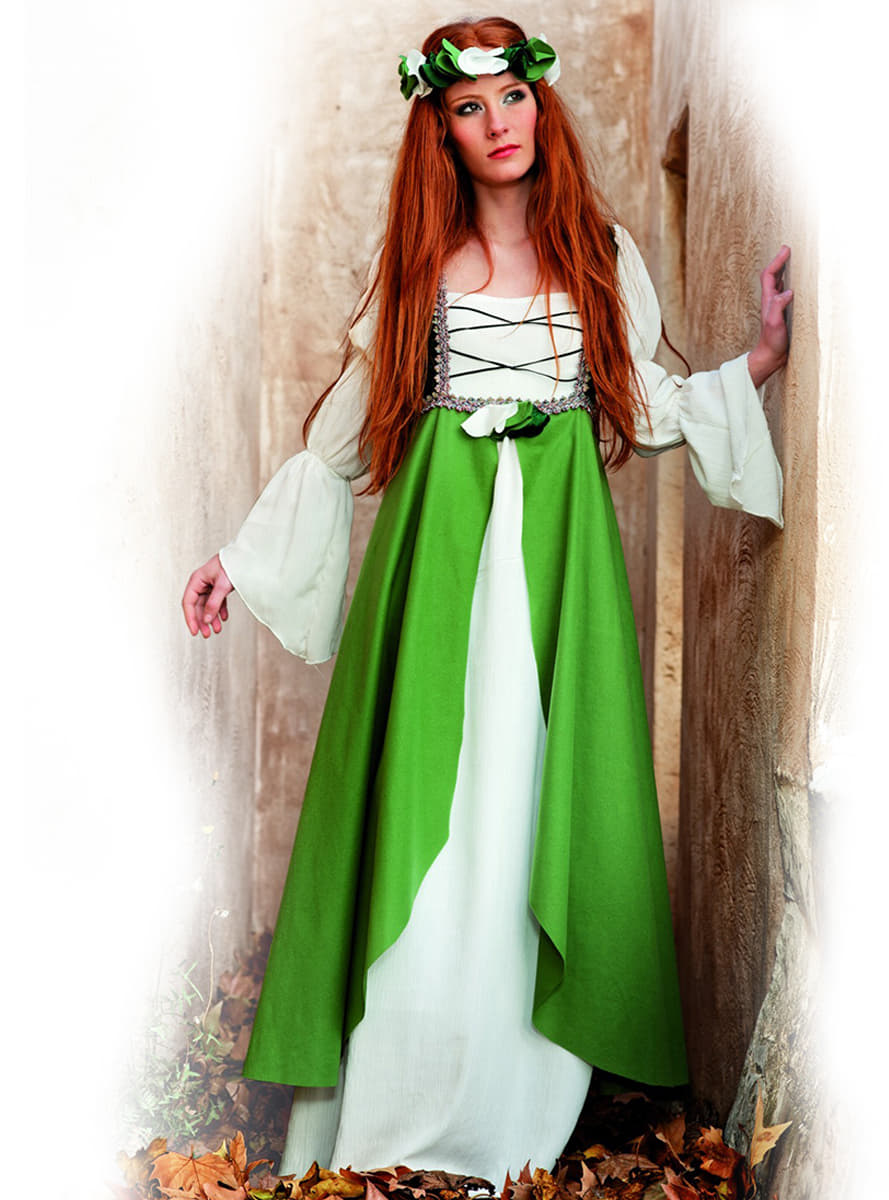 Trajes medievales mujer pontevedra