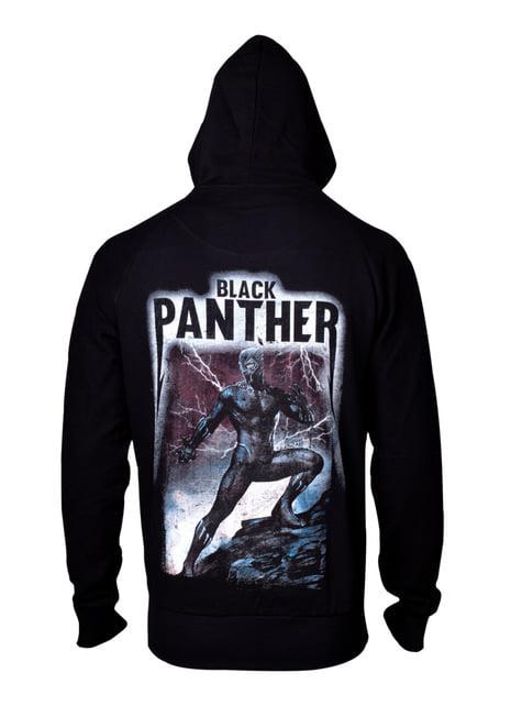 Bluza dla mężczyzn Black Panther z dużym nadrukiem na plecach