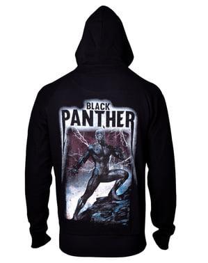 Mikina pro muže Black Panther velký potisk na zádech
