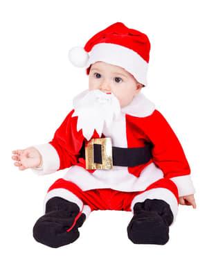 Costum Moș Crăciun pentru bebeluși
