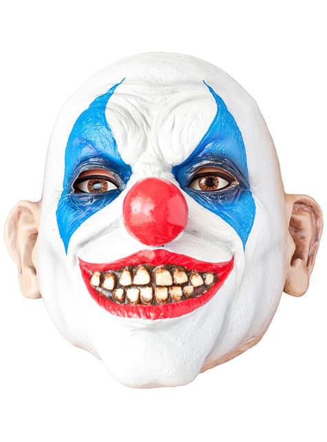 Máscara de payaso terrorífico