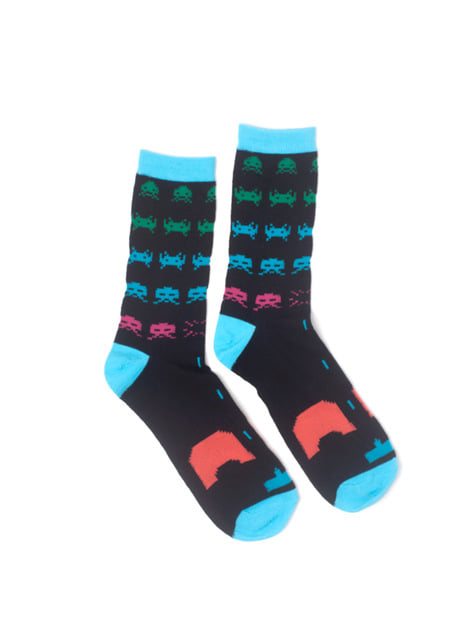 Calcetines de Space Invaders