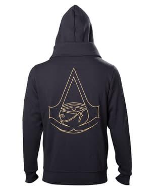 Assassin's Creed Origins Logo jacket i gull til menn