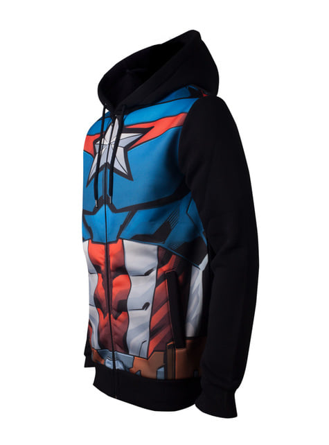 Captain America Suit sweatshirt for men