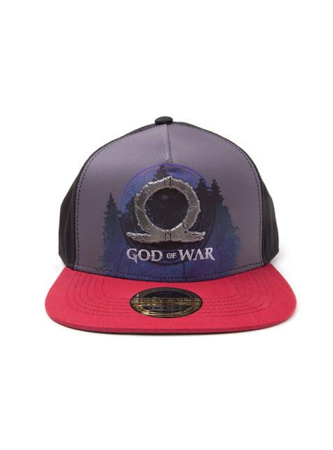 Gorra God Of War placa metálica para hombre