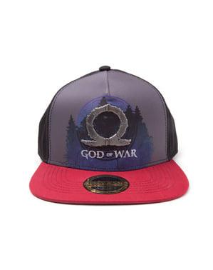 Boné God Of War placa metálica para homem