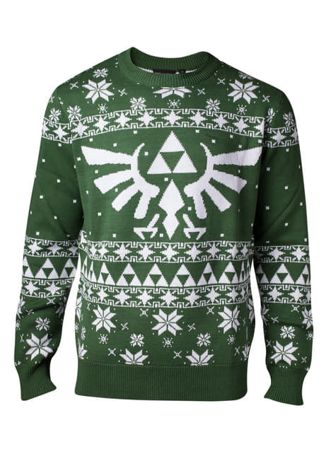 Jersey navideño de La Leyenda de Zelda para hombre