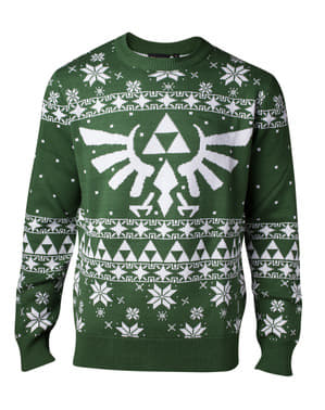 द लीजेंड ऑफ ज़ेल्डा क्रिसमस स्वेटर फॉर मेन