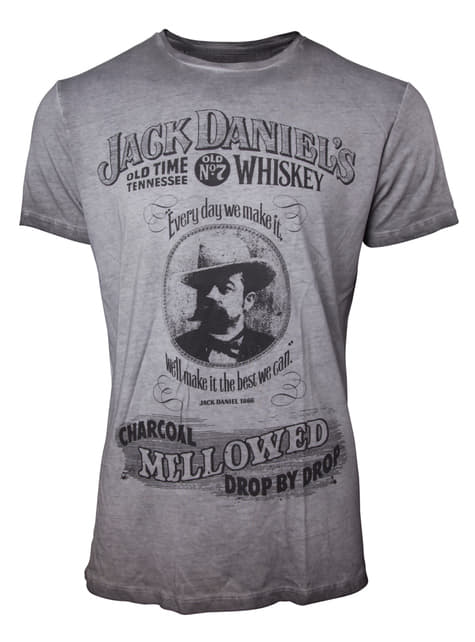 Jack Daniel's Mellowed T-Shirt for Men in Grey