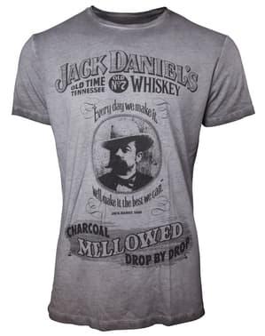 Szara koszulka Jack Daniel's Mellowed dla mężczyzn
