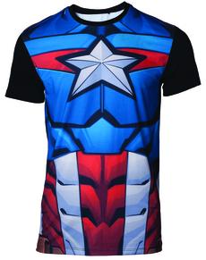 Pánská a dámská trička Captain America  66c1177daf