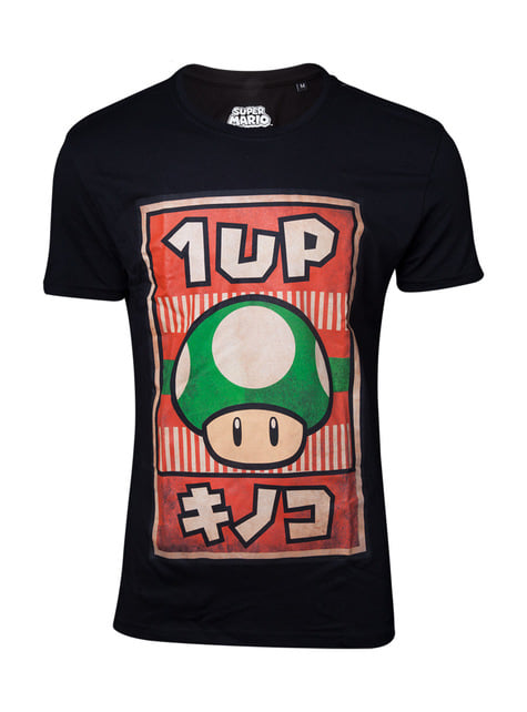 1UP Paddestoel t-shirt - Super Mario Bros
