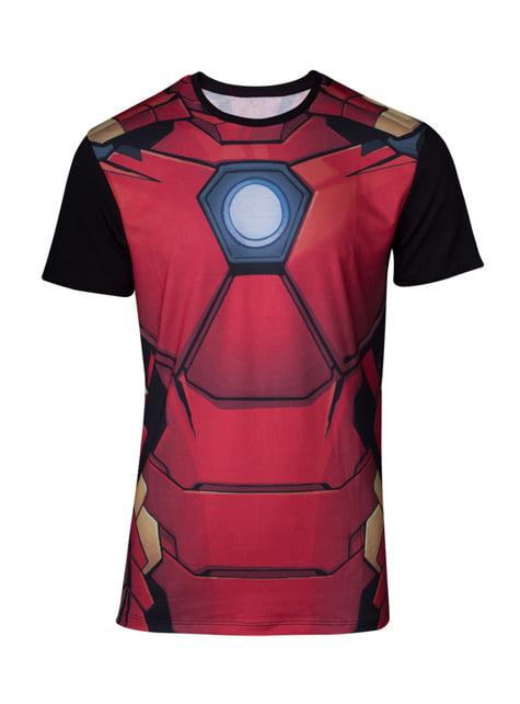 T-shirt Homem de Ferro Armadura para homem
