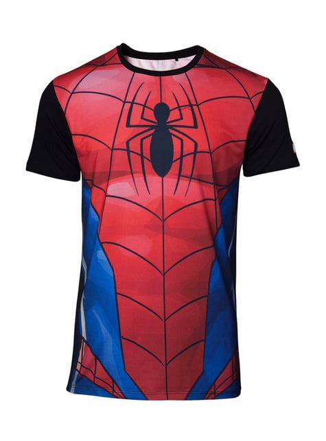 Spiderman Anzug T-Shirt für Herren