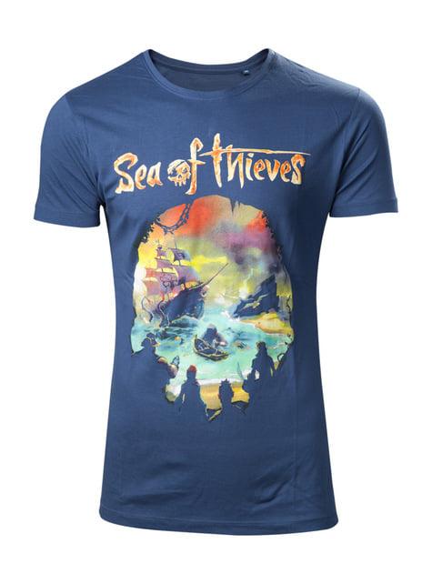 Sea of Thieves Logo T-Skjorte til menn
